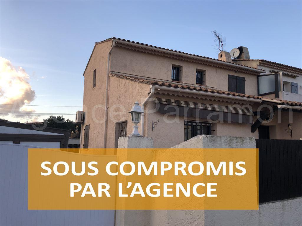 Vente SIX FOURS  villa quartier BUCARIN 2 chambres
